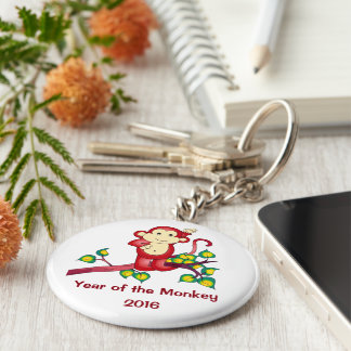 2016 Year of the Monkey Chinese New Year Keychain