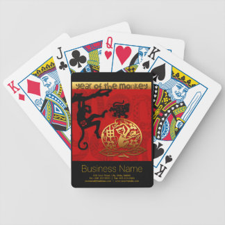 2016 Year of The Monkey Chinese New Year Poker Deck