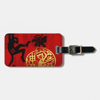 2016 Year of The Monkey Chinese New Year Tag For Luggage