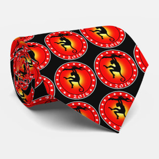 2016 Year of the Monkey Tie