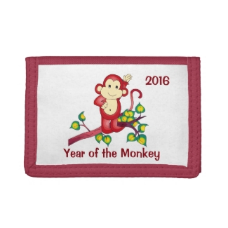 2016 Year of the Red Monkey Wallet
