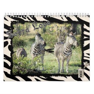 2016 Zebra Love Calendar