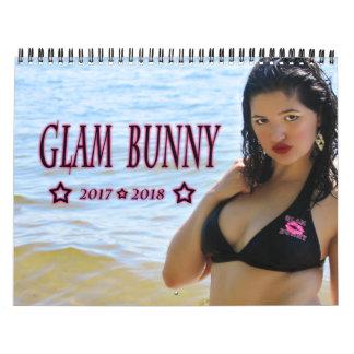 2017-2018 GlamBunny 15 Month Swimsuit Calendar