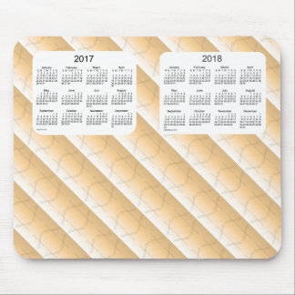 2017-2018 Sepia Dragonfly 2 Year Calendar by Janz Mouse Pad
