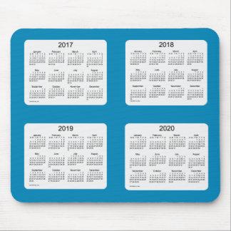 2017-2020 Steel Blue Calendar by Janz Mousepad