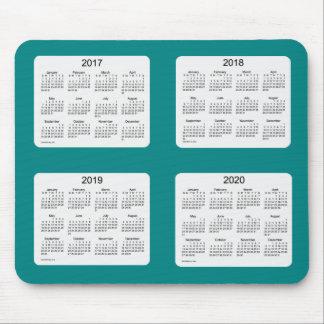 2017-2020 Teal Calendar by Janz Mousepad