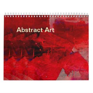 2017 Abstract Art Calendar