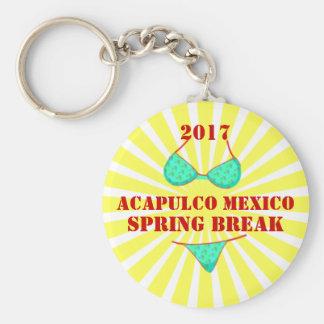 2017 Acapulco Mexico | Spring Break Souvenir Keychain