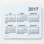 2017 Alice Blue Large Print Calendar by Janz Mouse Pad
