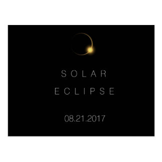 2017 American Total Solar Eclipse Postcard