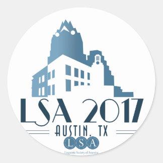 2017 Annual Meeting Sticker, Sheet of 20 Classic Round Sticker