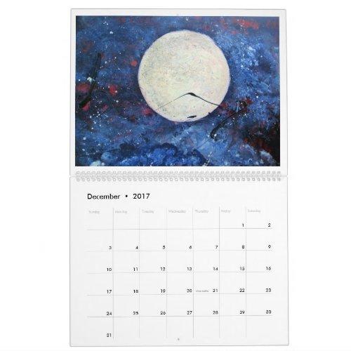 2017 Art Calendar by Diane Clement