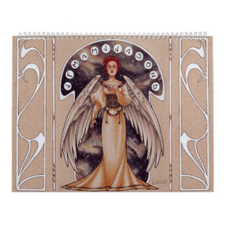 2017 Art Nouveau Ladies Calendar