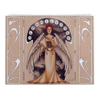 2017 Art Nouveau Ladies Calendar