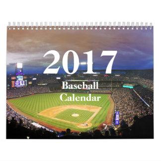 2017 Baseball Calendar-HAMbyWhiteGlove Calendar