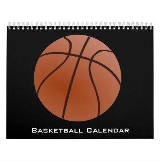 2017 Basketball Calendar