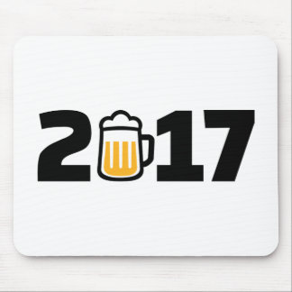 2017 beer mouse pad