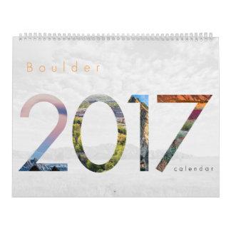 2017 Boulder Colorado Calendar