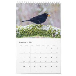 2017 British Bird Calendar