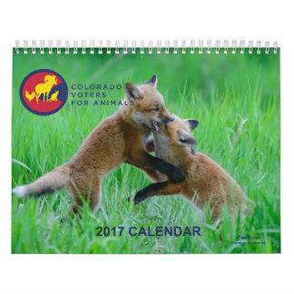 2017 Calendar- All Animals Photo Contest Calendar