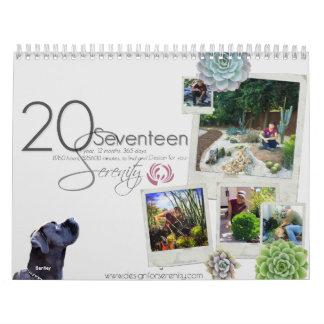 2017 Calendar Design for Serenity