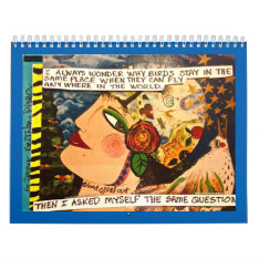 2017 Calendar Filled With Bad Girl Art at Zazzle