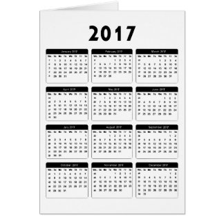 2017 Calendar jGibney The MUSEUM Zazzle Gifts Card