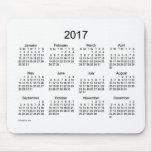 2017 Calendar Mouse Pad