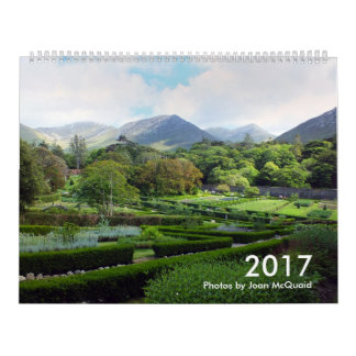2017 Calendar: Photographs by Joan McQuaid Calendar