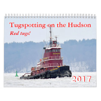 2017 calendar Red Tugs!