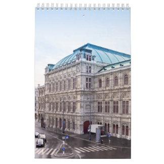 2017 Calendar with Vienna