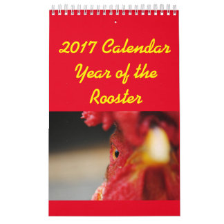 2017 Calendar Year of the Rooster