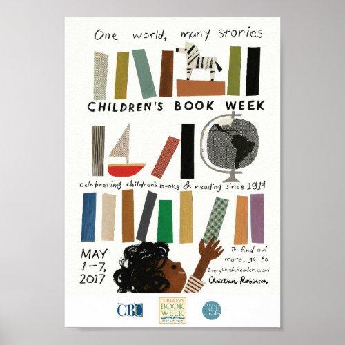 2017 Children's Book Week Poster