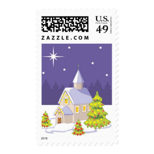 2017 Christmas Cards Stamp Usps at Zazzle