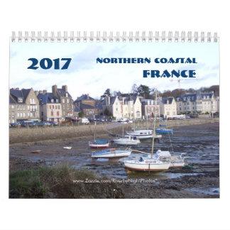 2017 Coastal France Calendar