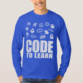 2017 Code To Learn Long Sleeve T-Shirt