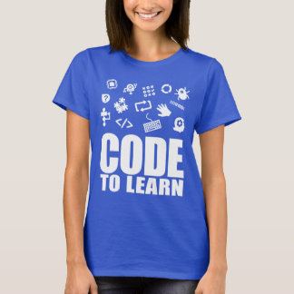 2017 Code To Learn Woman's Short Sleeve T-Shirt