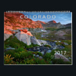 "2017 Colorado Scenic Calendar<br><div class=""desc"">Seasonal images from wilderness areas,  national forests,  fourteeners and more!</div>"