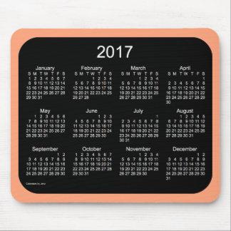 2017 Coral Neon Calendar by Janz Mousepad