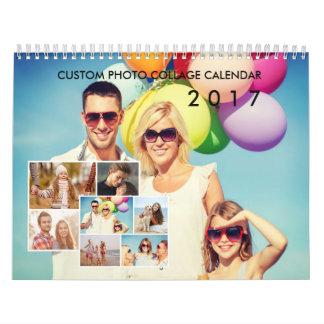 2017 Custom Photo Collage Calendar