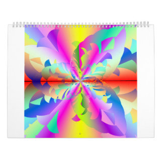 2017 Cyber Rainbow Calendar
