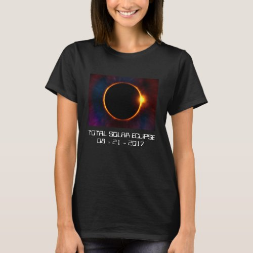 2017 Dark Solar Eclipse T_Shirt