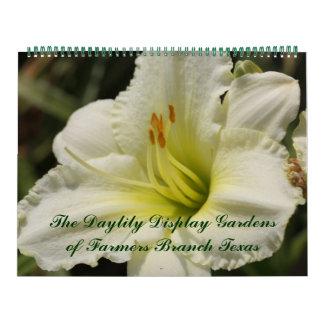 2017 Day Lily Display Gardens Calendar