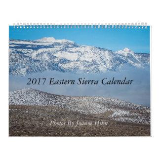 2017 Eastern Sierra Calendar