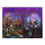 2017 Fantasy Art Calendar by Molly Harrison