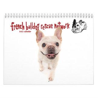 2017 FBRN French Bulldog Calendar