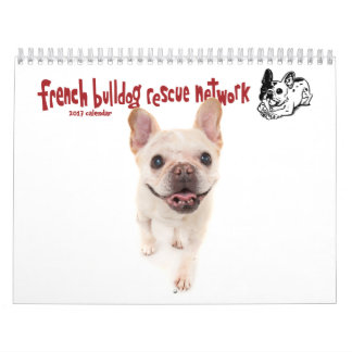 2017 FBRN French Bulldog Calendar