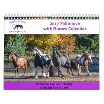 2017 Fellinlove with Horses Calendar