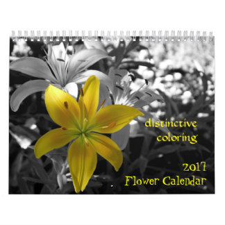 2017 Flower Calendar