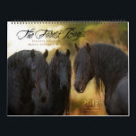"""2017 Forest Boyz Calendar<br><div class=""""desc"""">Meike,  Menno and Saphire,  affectionately known as The Forest Boyz,  are Friesian stallions that live free in a bachelor herd in the forests of the northern California coast. There is nothing like the heart of a stallion,  and this is a rare glimpse into their world.</div>"""